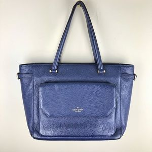 Kate Spade Navy Leather Tote